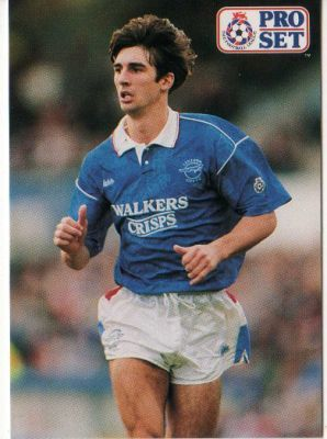 Paul Kitson - Leicester City - ProSet -1991/92