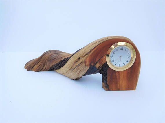 Very Unique Driftwood Twisted Root Desk Clock