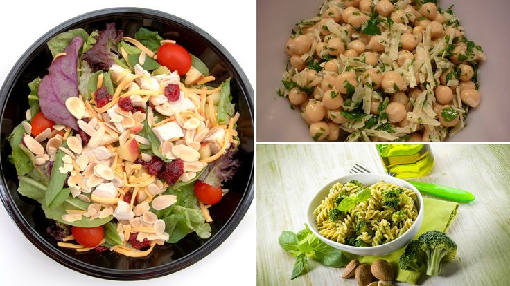 Did you know you can make delicious salads using only 3 ingredients?