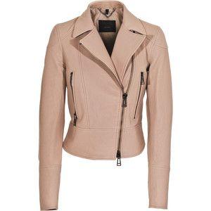 BELSTAFF Ambleside Champagne Biker leather jacket