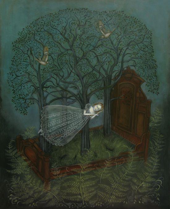 good night... (Kelly Louise Judd Forest Sleep): Louise Judd, Swan Bones, Forests Sleep, Swanbones, Louis Judd, Forestsleep, Kelly Louise, Sweet Dreams, Artkelli Louis