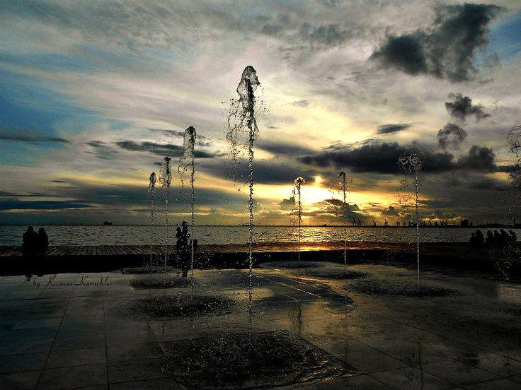 Thessaloniki: Sunset by Kosmas Karachles on 500px