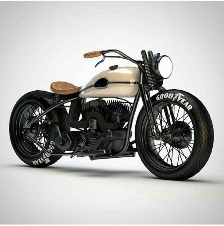 nur das Fahrrad – Harleys