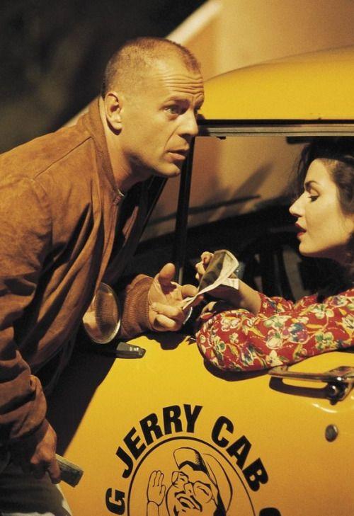 Bruce Willis and Angela Jones /  Pulp Fiction
