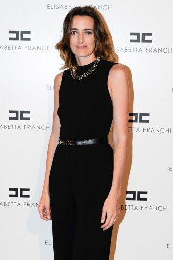 Maria Sole #Brivio #Sforza #party #presentation #SS14  #MILANO #ITALIA #jumpsuit  #ELISABETTAFRANCHI #FW13
