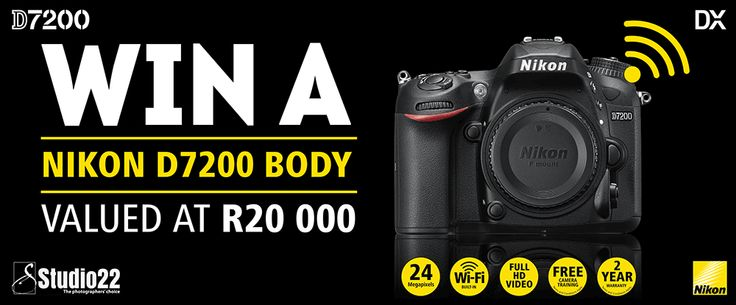 Nikon is launching the new star of Nikon's DX-format line-up and for this, Studio22 would like to give one lucky person the chance to WIN the Nikon D7200 Body Only & Lexar goodie bag with a combined value of R20 000.00! Bring your creative vision to life with photos and videos that [...]