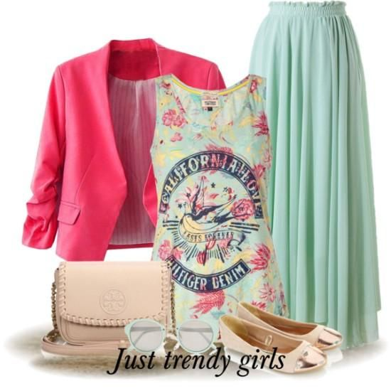 leopard mint outfit, mint maxi skirts  Casual mint outfits styling ideas http://www.justtrendygirls.com/casual-mint-outfits-styling-ideas/