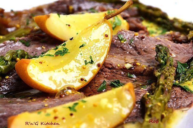 R'n'G Kitchen: Wołowina z gruszką