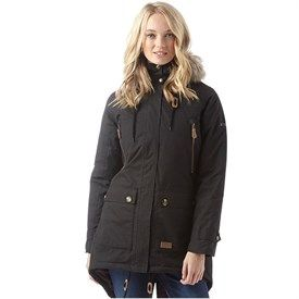 quality products cheap good Trespass Womens Clea Insulated Waterproof Parka Jacket Black ...