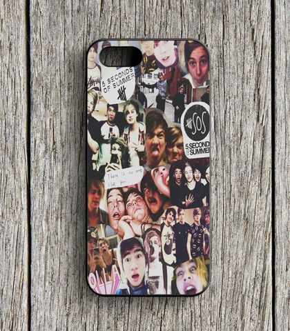 5 Second Of Summer Collage Art 5 SOS Music iPhone 5 | 5S Case
