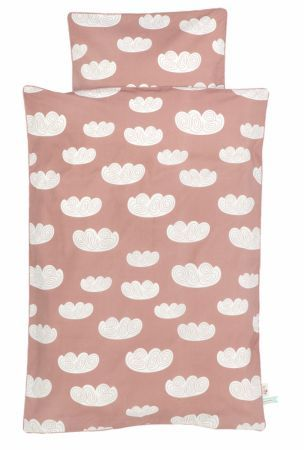 Ferm Living baby sengetøj - Rosa /Pudder