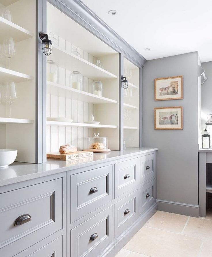 Built In Kitchen Pantry Ideas: 17 Best Ideas About Built In Hutch On Pinterest