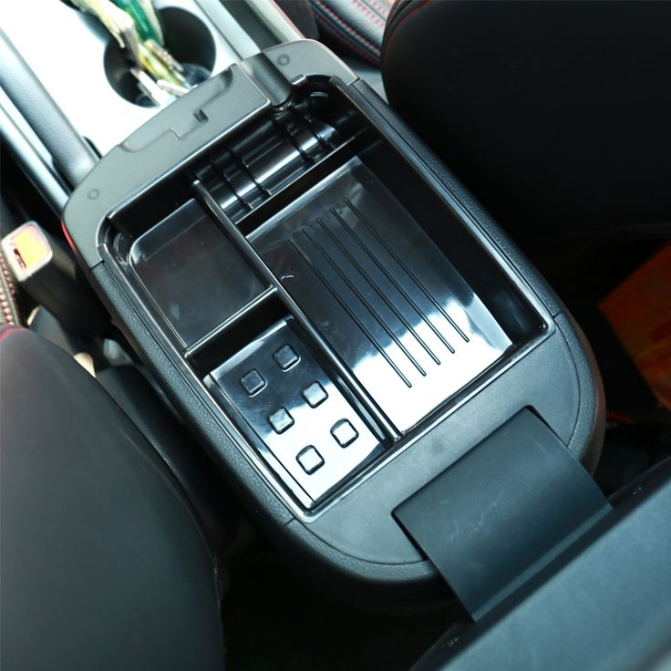 Car-Styling Armrest Storage Box Glove Box Tray Storage Box For KIA Sportage R 2011 2012 2013 2014 Auto Accessories