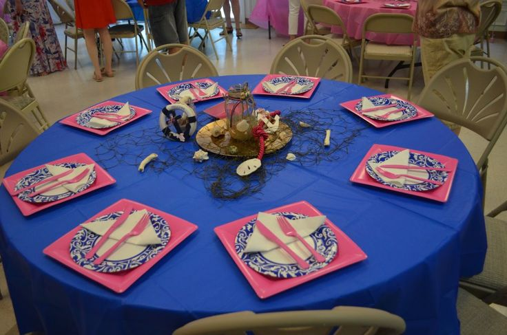 centerpiece for girl nautical themed baby shower girl baby shower