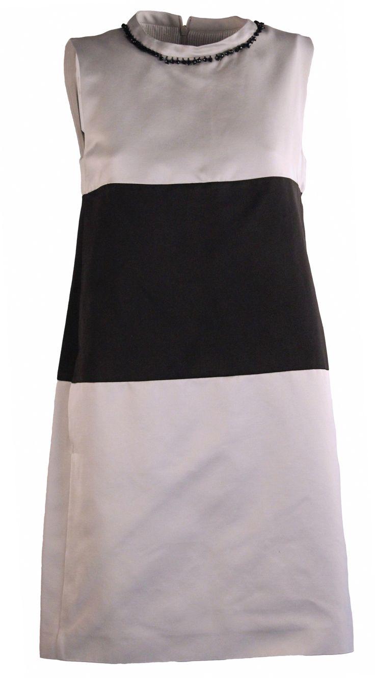 'S Max Mara : 'S Max Mara #Abito SERGIO colore Tortora con fascia nera #dress #gemmaboutique