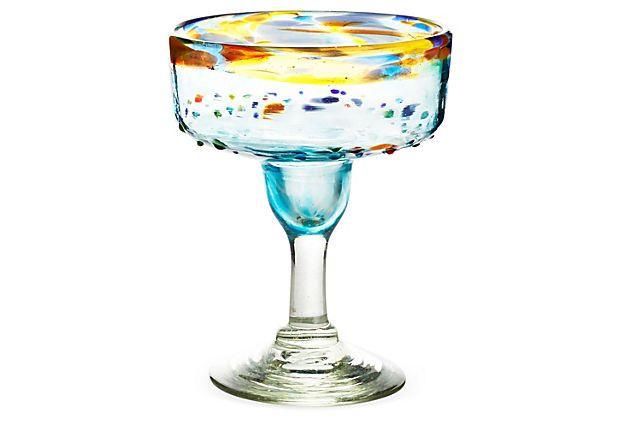 S/6 Del Sol Margarita Glasses on OneKingsLane.com