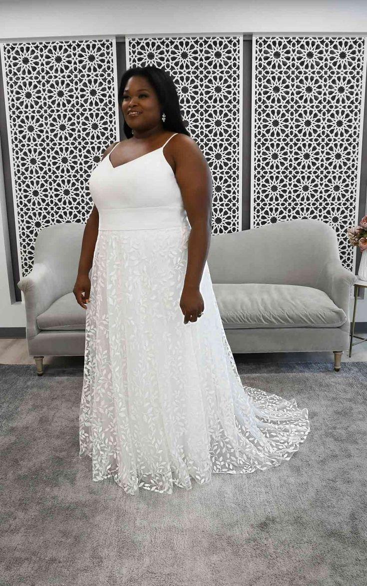 Clean Beach A Line Plus Size Wedding Dress Stella York Wedding Dresses Stella York Wedding Dress York Wedding Dress Dresses [ 1173 x 735 Pixel ]