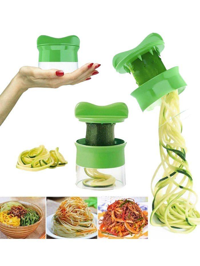 Kitchen Gadgets Cucumber Grater Vegetable Spiralizer ...