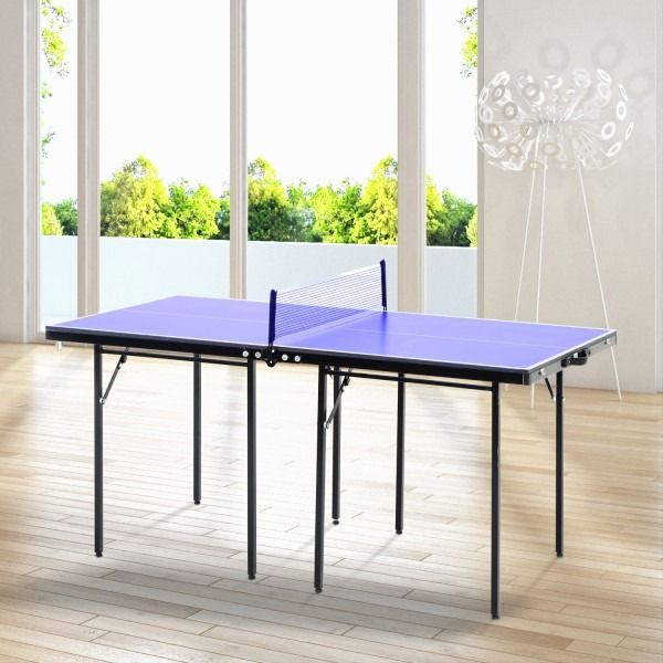 Table De Ping Pong Pliable Et Transportable Cielterre Commerce Table De Ping Pong Ping Pong Table