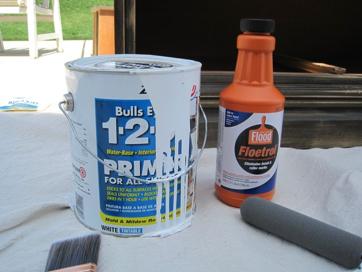 Remember To Use This When Painting Furniture Floetrol Diy