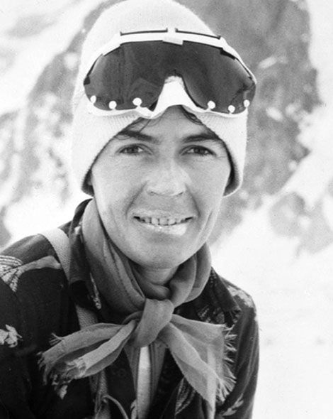 Historical Badass: Wanda Rutkiewicz was one the finest female alpinists of the 20th Century. http://adv-jour.nl/10bekq6
