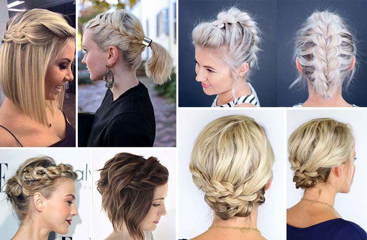Βάλτε την φαντασία σας να δημιουργήσει πλεξούδες όλων των ειδών! Πάρτε ιδέες από μια συλλογή με 35 υπέροχα χτενίσματα με πλεξούδες για κοντά μαλλιά!