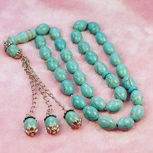 muslim prayer beads | Fashion 33 Turquoise Prayer Beads Islamic Muslim Tasbih | eBay