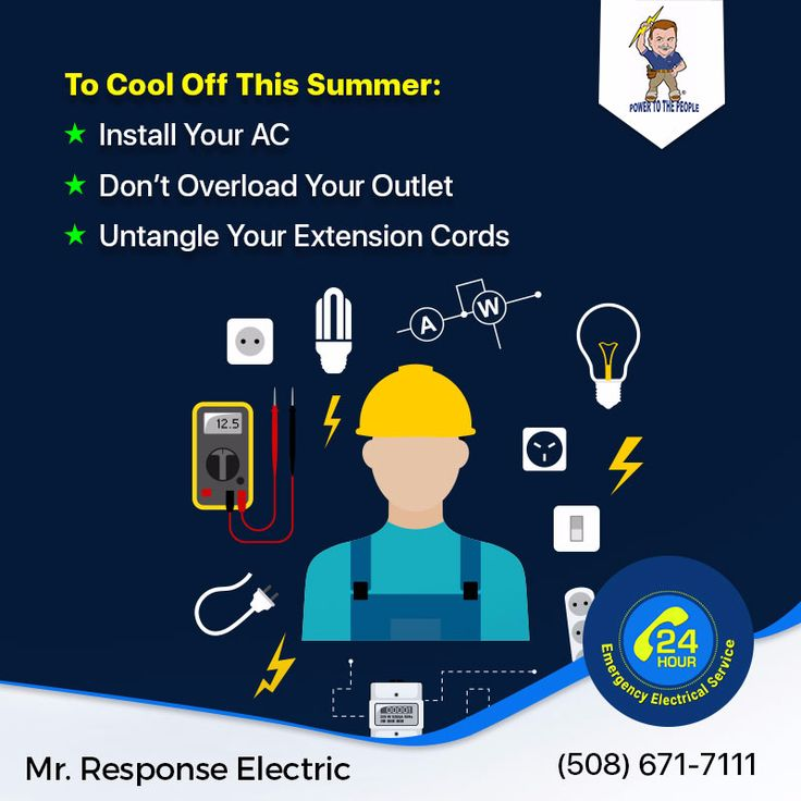 Our residential #Electricians recommend that you turn off lights and unplug appliances when not in use. http://www.mrresponse.com/