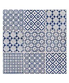 Batik Patchwork Blue Tile
