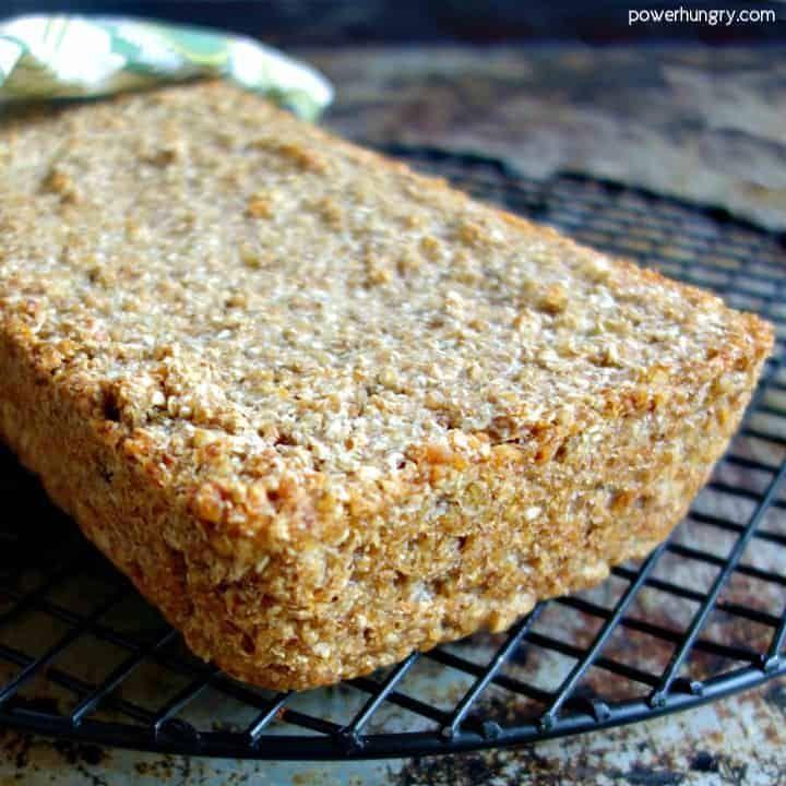 1ingredient flourless buckwheat bread vegan gf power
