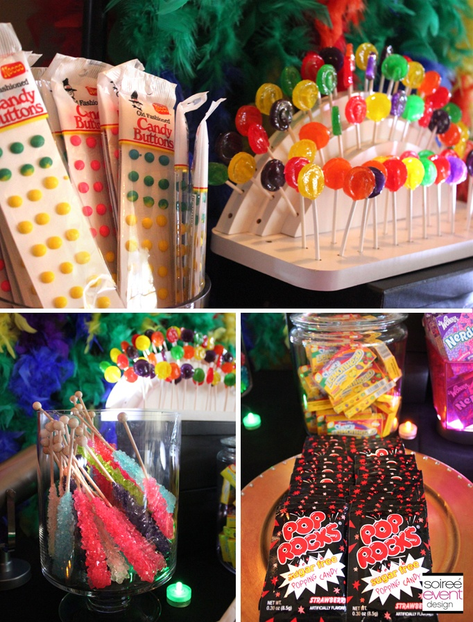 80′s Party Candy Bar