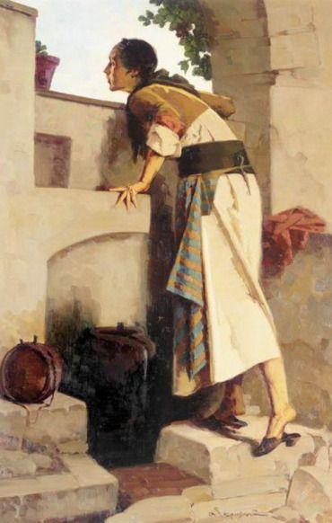 Γεραλής Απόστολος-At the fountain