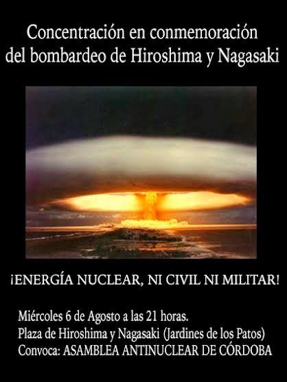 HORNACHUELOS: NO A LA ENERGÍA NUCLEAR  NO AMPLIACION CABRIL NO G...