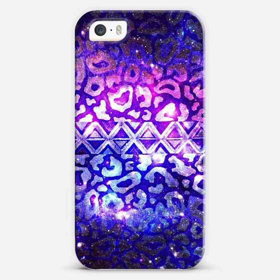 """""""Tribal Leopard Galaxy"""" by Julia Di Sano, Ebi Emporium on Casetify #EbiEmporium #colorful #fineart #iPhone #cellphone #case #cover #techie #device #painting #whimsical #art #giftforher #boldcolors #modern #chic #trendy #purple #eggplant #violet #blue #lavender #lilac #animal print #leopard #ombre #cat #pattern #tribal #native #triangles #space #galaxy #galactic #cosmic #cosmos #stars #abstract #pattern Get $10 off using code: 5K7VFT"""