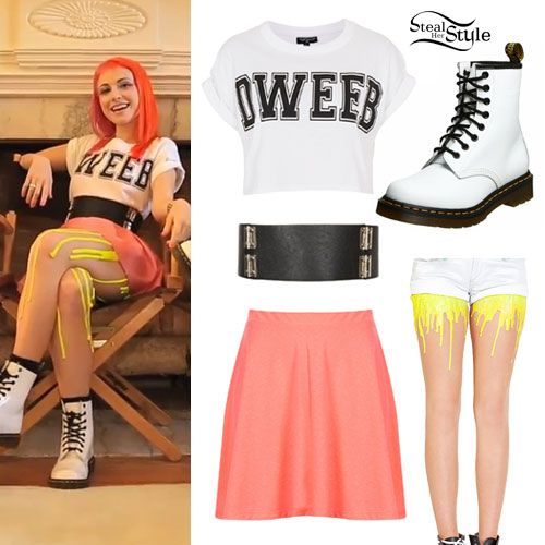Hayley Williams: Still Into You Music Video Outfit