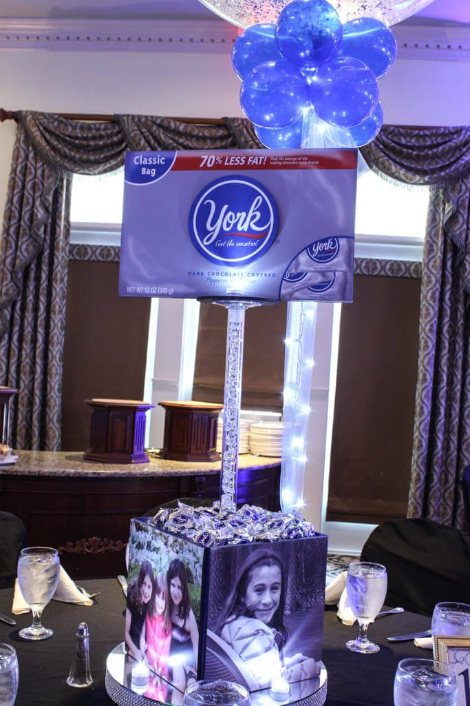 Themed Centerpieces - Candy Themed Centerpiece