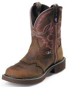 @Jackie these are the ones I got only on clearance. love em.Justin Cowboy Boots Women's Gypsy Cowgirl Steel Toe Work Boots - Aged Bark