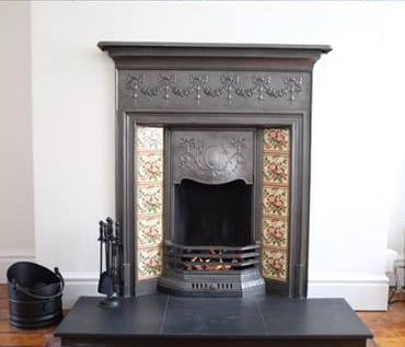 Victorian fireplace my first house had these in every for Country home and hearth