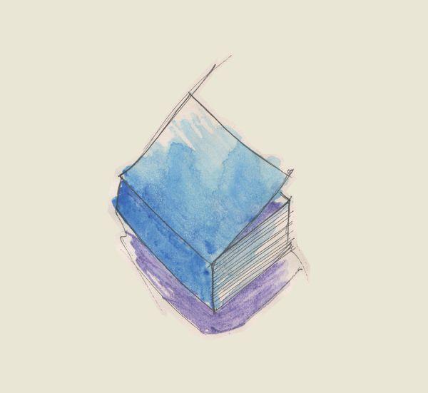 sketches by Federica Fragapane, via Behance  #sketch, #watercolor, #book