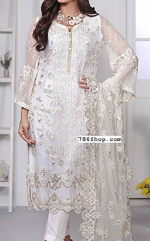 0bb08140bb17 White Chiffon Suit | Buy Azure Pakistani Dresses and Clothing online in  USA, UK