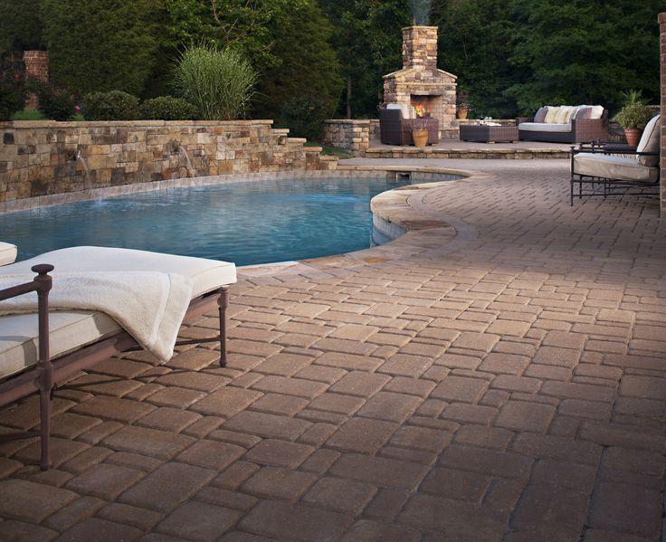 70 best pool deck designs images on pinterest | pool decks, deck ... - Patio Pool Ideas