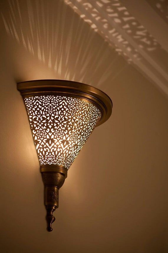 Moroccan Lamp Moroccan Sconce Wall Sconce Traditional Sconce Sconce Light Wall Lamp Copper Sconce Moroccan Mosaic Lighting Traditional Wall Sconces Wall Sconces Living Room Sconces Indoor