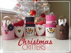 Christmas Characters Treat Buckets