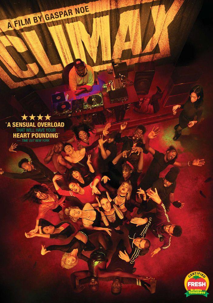 Climax Dvd 2018 Posters Peliculas Cine Frances Arte