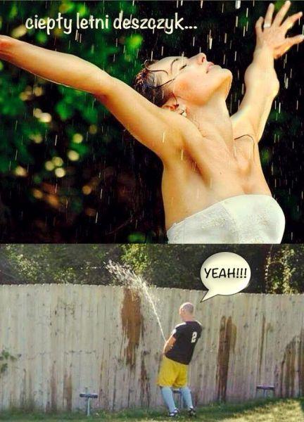 letni deszcz śmieszne zdjęcia #śmiesznezdjęcia #humor #rozrywka