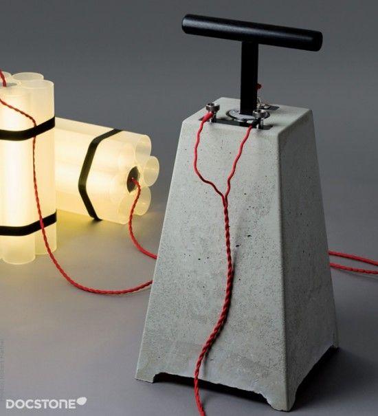 Dynamite and Detonator Lights
