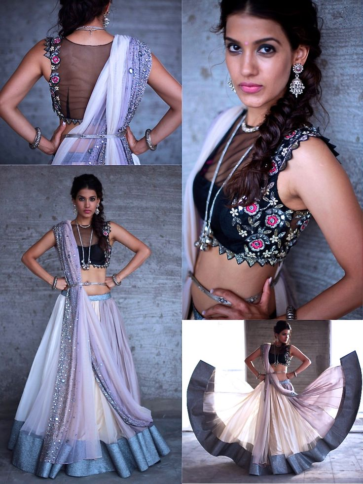 The stunning modern #IndianBride by @arpita_mehta http://ArpitaMehta.in/ ~