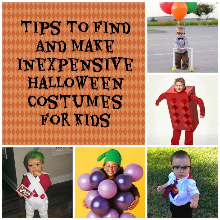 Halloween costumes can be so expensive! Check out these tips to find and make inexpensive Halloween costumes for kids.