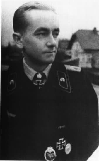 ✠ Otto Carius (27 May 1922 – 24 January 2015) RK 04.05.1944 Leutnant d.R. Zugführer i. d. 2./s.Pz.Abt 502 [535. EL] 27.07.1944 Leutnant d.R. Führer 2./s.Pz.Abt 502