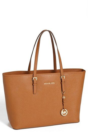MICHAEL Michael Kors Saffiano Leather Tote (Save Now through 12/9) available at #Nordstrom